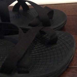 Chaco Shoes - Men's Chaco sz 10 Z Volv 2 black sandals